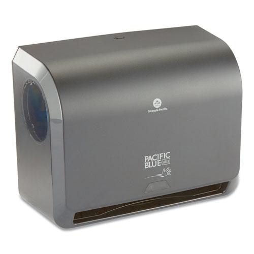 Georgia Pacific® Professional Pacific Blue Ultra Mini Paper Towel Dispenser, 14.56 x 7.38 x 11.56, Black