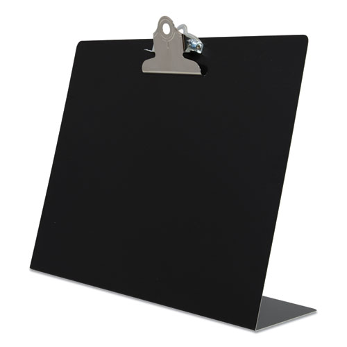 Free Standing Clipboard, Landscape, 1 Clip Capacity, 11 x 8.5 Sheets, Black