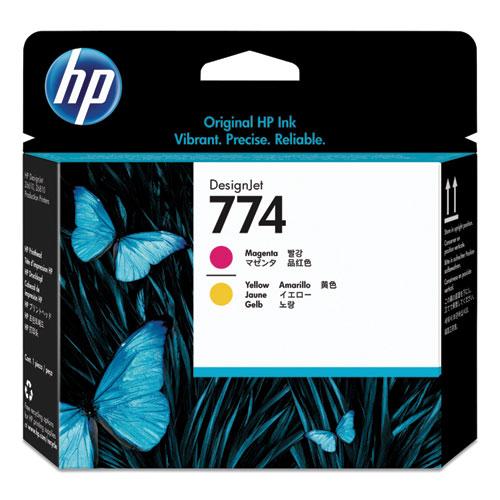 HP 774, (P2V99A) Magenta/Yellow Printhead
