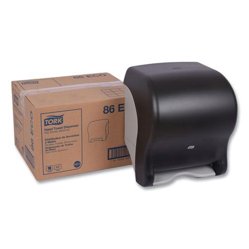 Tork® Hand Towel Dispenser, Electronic, 11.78 x 9.12 x 14.39, Translucent Smoke