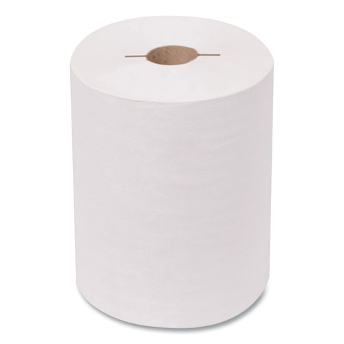 Advanced Hand Towel Roll, Notched, 1-Ply, 7.5 x 11, White, 491/Roll, 12/Carton