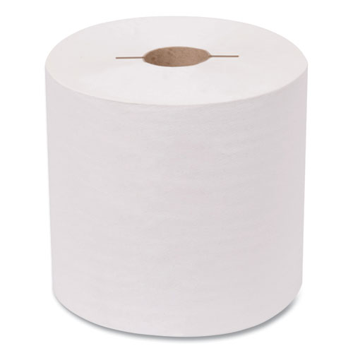 Advanced Hand Towel Roll, Notched, 1-Ply, 7.5 x 10, White, 1200/Roll, 6/Carton