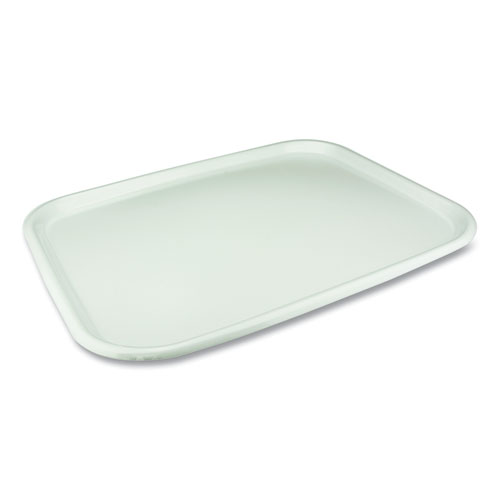 Laminated Serving Trays, 18 x 14 x 0.91, White, 100/Carton