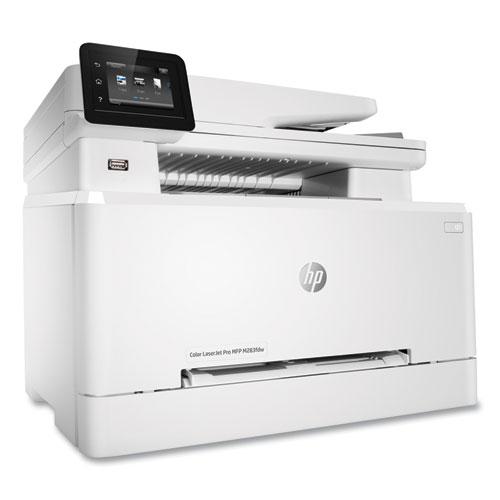 Color LaserJet Pro MFP M283fdw Wireless Multifunction Laser Printer, Copy/Fax/Print/Scan