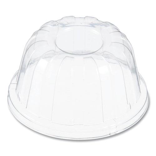 D-T Sundae/Cold Cup Lids, Fits Foam Cups, Clear, 500/Carton
