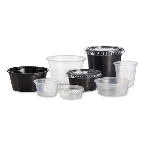 Dart® Conex Complements Portion/Medicine Cups, 1.25 oz, Translucent, Graduated, 125/Bag, 20 Bags/Carton