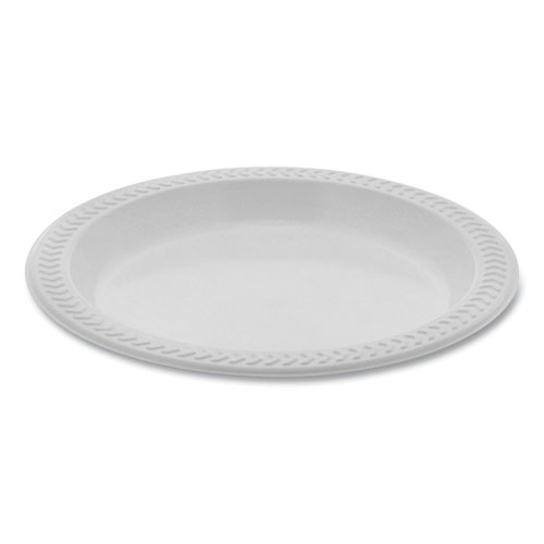 Meadoware OPS Dinnerware, Plate, 6 Diameter, White, 1,000/Carton