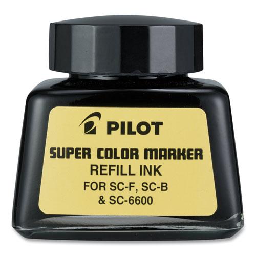 Super Color Marker Refill Ink, 30 mL Bottle, Black
