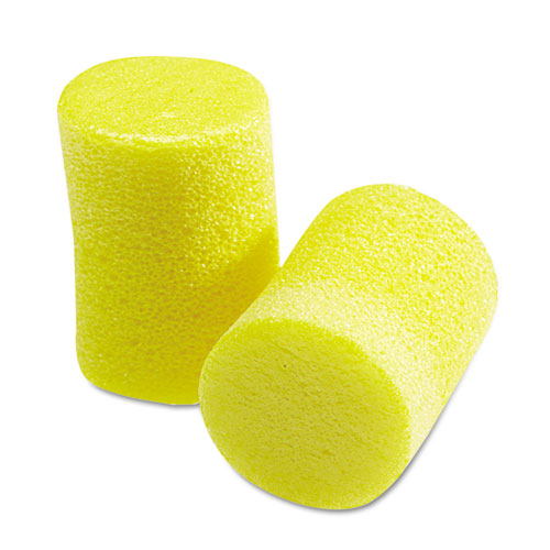EAR Classic Earplugs, Pillow Paks, Uncorded, Foam, Yellow, 30 Pairs | by Plexsupply