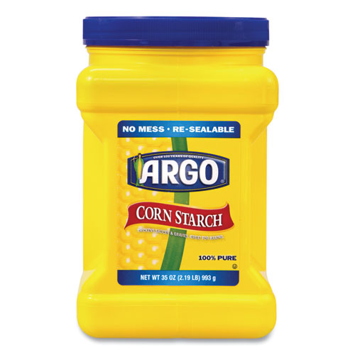 Corn Starch, 35 oz Resealable Tub, Free Delivery in 1-4 Business Days