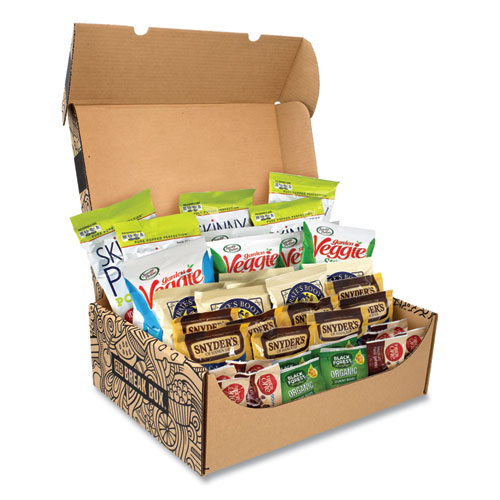 Snack Box Pros Healthy Snack Box, 37 Assorted Snacks, Free Delivery in 1-4 Business Days