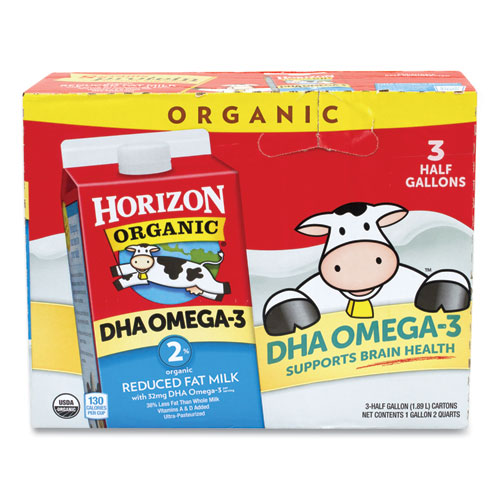 Organic 2 Milk, 64 oz Carton, 3/Carton, Free Delivery in 1-4 Business Days