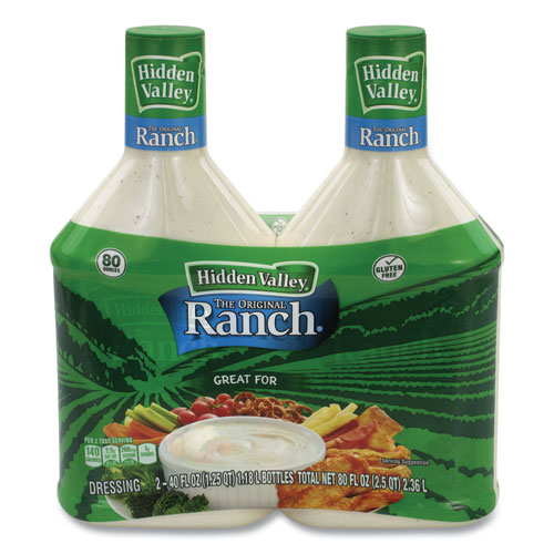 Original Ranch Dressing, 40 oz Bottle, 2 Bottles/Pack, Free Delivery in 1-4 Business Days