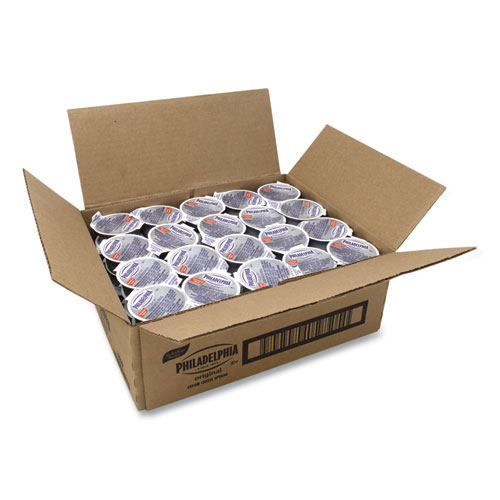Philadelphia Cream Cheese, Original, 0.75 oz Cup, 50/Box, Delivered in 1-4 Business Days