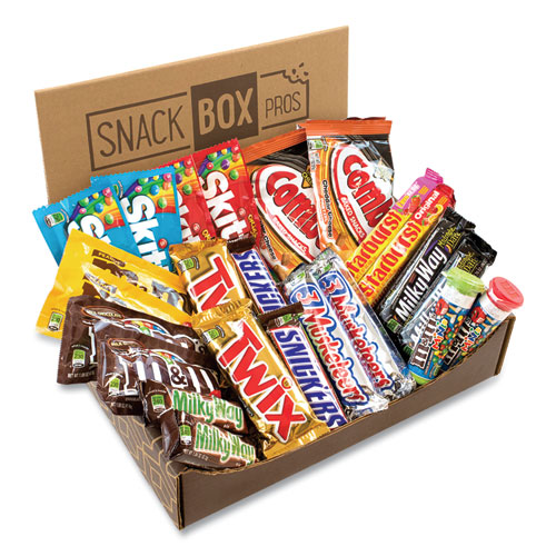 MARS Favorites Snack Box, 25 Assorted Snacks, Free Delivery in 1-4 Business Days