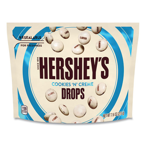 Drops Candy, Cookies n Creme, 7.6 oz Bag, 3 Bags/Pack, Free Delivery in 1-4 Business Days