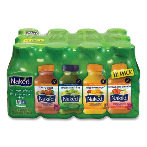 Juice Variety Pack, 10 oz, Assorted Flavors, 12/Carton, Free Delivery in 1-4 Business Days