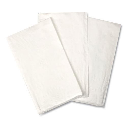 Dinner Napkins, 2-Ply, 14.50W x 16.50D, White