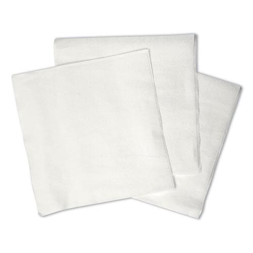 1/4-Fold Lunch Napkins, 1-Ply, 12 x 12, White, 6000/Carton