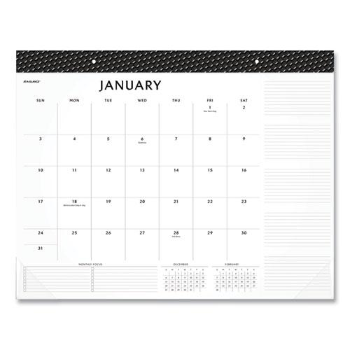 Elevation Desk Pad Calendars, 21.75 x 17, 2021