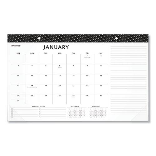 Elevation Desk Pad Calendars, 17.75 x 11, 2021