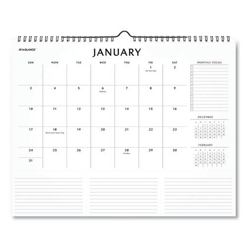 Elevation Wall Calendar, 15 x 12, 2021