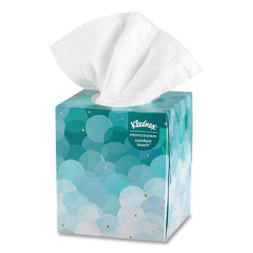 Boutique White Facial Tissue, 2-Ply, Pop-Up Box, 95 Sheets/Box, 36 Boxes/Carton