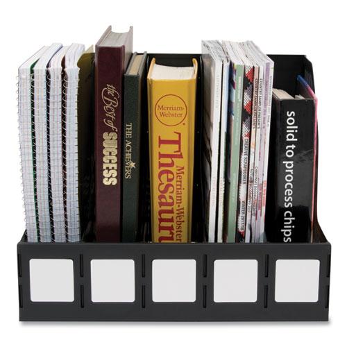 Literature File, Five Slots, Black