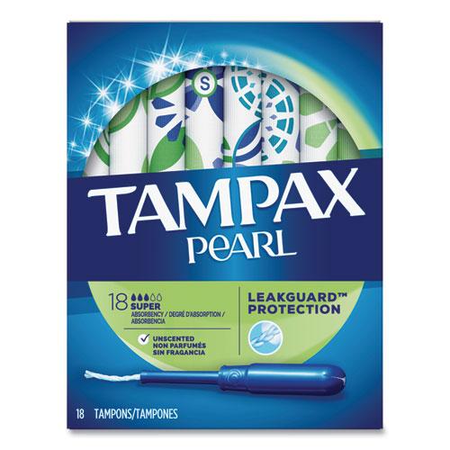 Pearl Tampons, Super, 18/Box