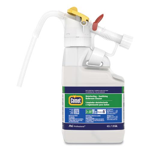 P&G Professional™ Dilute 2 Go, Comet Disinfecting - Sanitizing Bathroom Cleaner, Citrus Scent, , 4.5 L Jug, 1/Carton