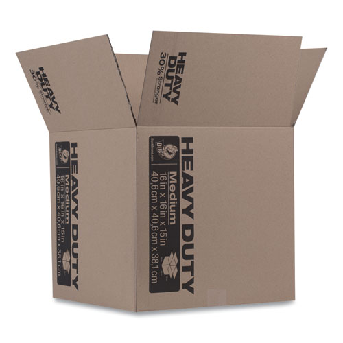 Heavy-Duty Boxes, Regular Slotted Container (RSC), 16 x 16 x 15, Brown