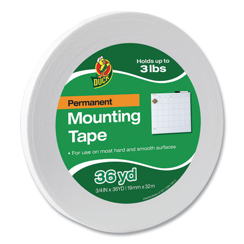 Permanent Foam Mounting Tape, 3/4 x 36yds