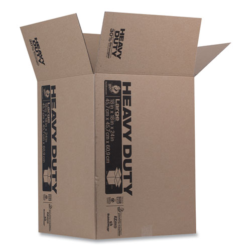 Heavy-Duty Boxes, Regular Slotted Container (RSC), 18 x 18 x 24, Brown