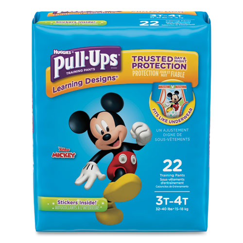 Huggies® Pull-Ups Learning Designs Potty Training Pants for Boys, Size 3T-4T, 22/Pack