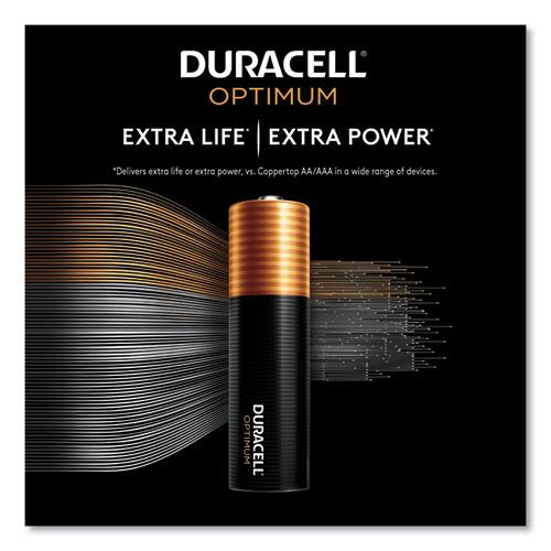 Optimum Alkaline AAA Batteries, 12/Pack