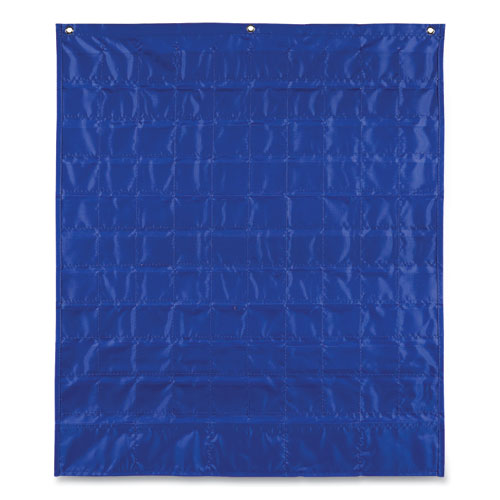 Hundreds Pocket Chart with 100 Clear Pockets, Colored Number Cards, 26 x 30