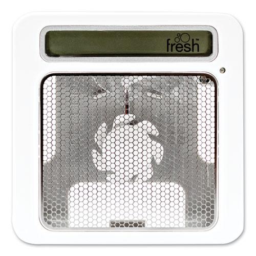 ourfresh Dispenser, 5.34 x 1.6 x 5.34, White, 12/Carton