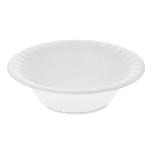 Unlaminated Foam Dinnerware, Bowl, 6 Diameter, 12 oz, White, 1,000/Carton