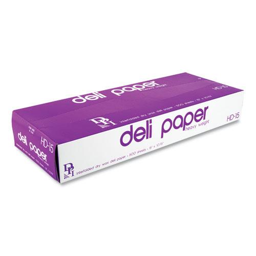 Interfolded Deli Sheets, 10.75 x 15, 500 Sheets/Box, 12 Boxes/Carton