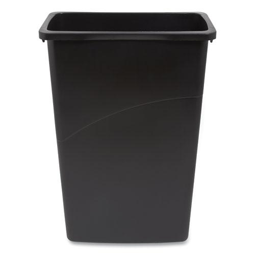 Coastwide Professional™ Open Top Indoor Trash Can, Plastic, 10.25 gal, Black
