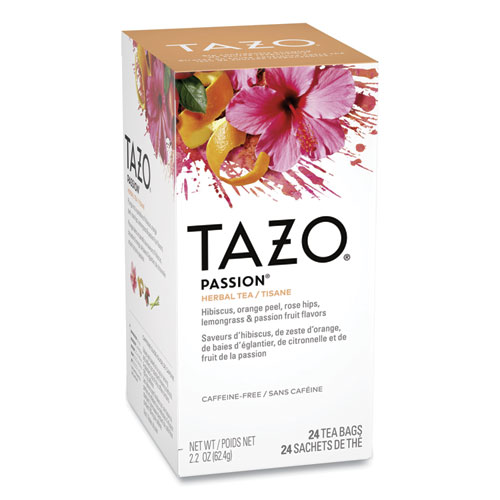 Tea Bags, Passion, 2.1 oz, 24/Box