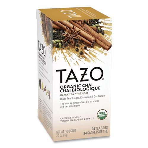 Chai Organic Black Tea, Filter Bag, 24/Box