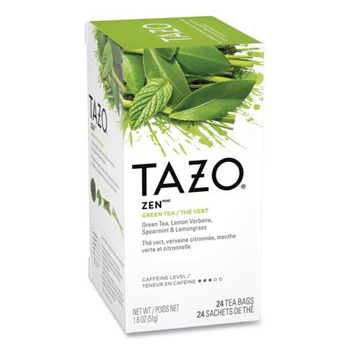 Tea Bags, Zen, 1.82 oz, 24/Box