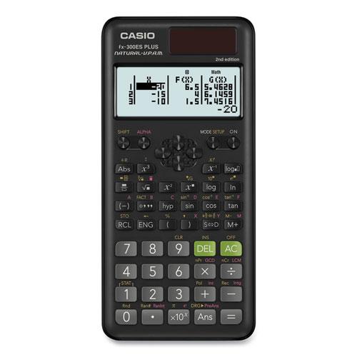 Casio® FX-300ESPLS2-S 2nd Edition Scientific Calculator, 12-Digit Natural Textbook Display