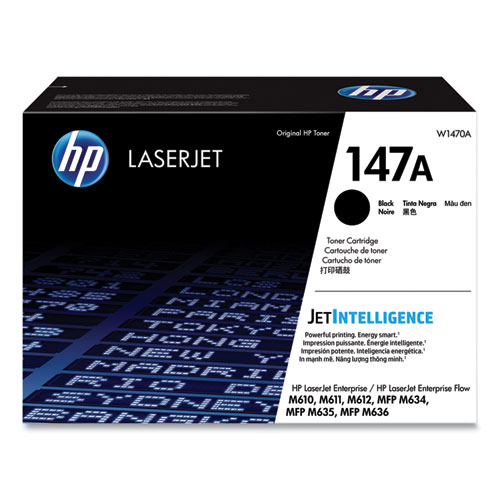 HP 147A, (W1470A) Black Original Laser Toner Cartridge