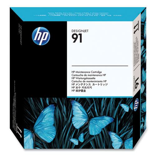 HP 91, (C9518A) Designjet Maintenance Cartridge