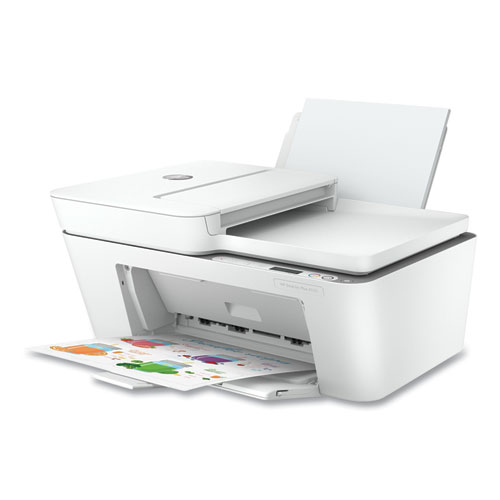 DeskJet Plus 4155 All-in-One Printer, Copy Fax Print Scan