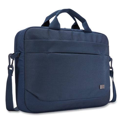 Advantage Laptop Attache, For 14 Laptops, 14.6 x 2.8 x 13, Dark Blue