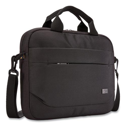 Advantage Laptop Attache, For 11.6 Laptops, 11.8 x 2.2 x 10.2, Black