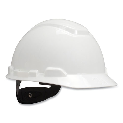 H-700 Series Hard Hat with Four Point Ratchet Suspension, UVicator Sensor, White